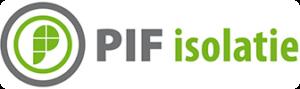 PIF isolatie logo - Dijkmans B.V. - Duurzaam en slim (af)bouwen