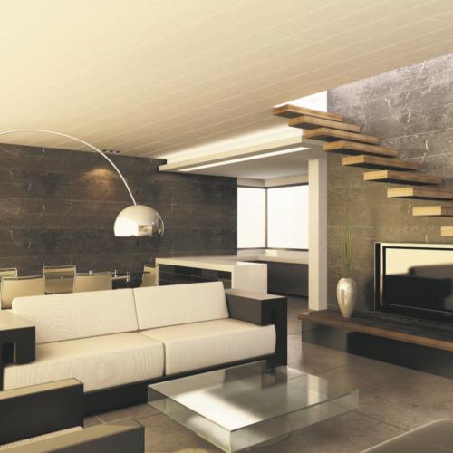 Hansapanel - plafondpaneel hout - Dijkmans - Duurzaam en slim (af)bouwen