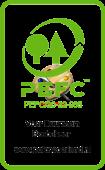 PEFC partner badge - duurzaam hout - Dijkmans - Duurzaam en slim (af)bouwen
